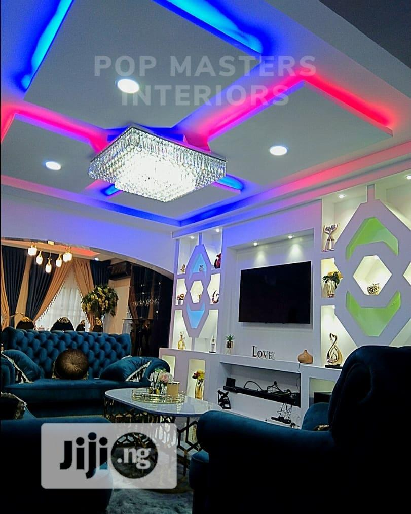 3d Panel Pop Ceiling House Painting | Building & Trades Services for sale in Lagos Island (Eko), Lagos State, Nigeria