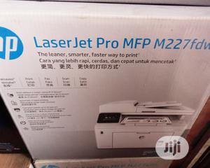 HP Laserjet Pro Mfp M227fdw Printer | Printers & Scanners for sale in Lagos State, Ikeja