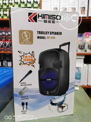 Kimiso Wired Microphone Bluetooth Speaker   Audio & Music Equipment for sale in Lagos State, Lekki