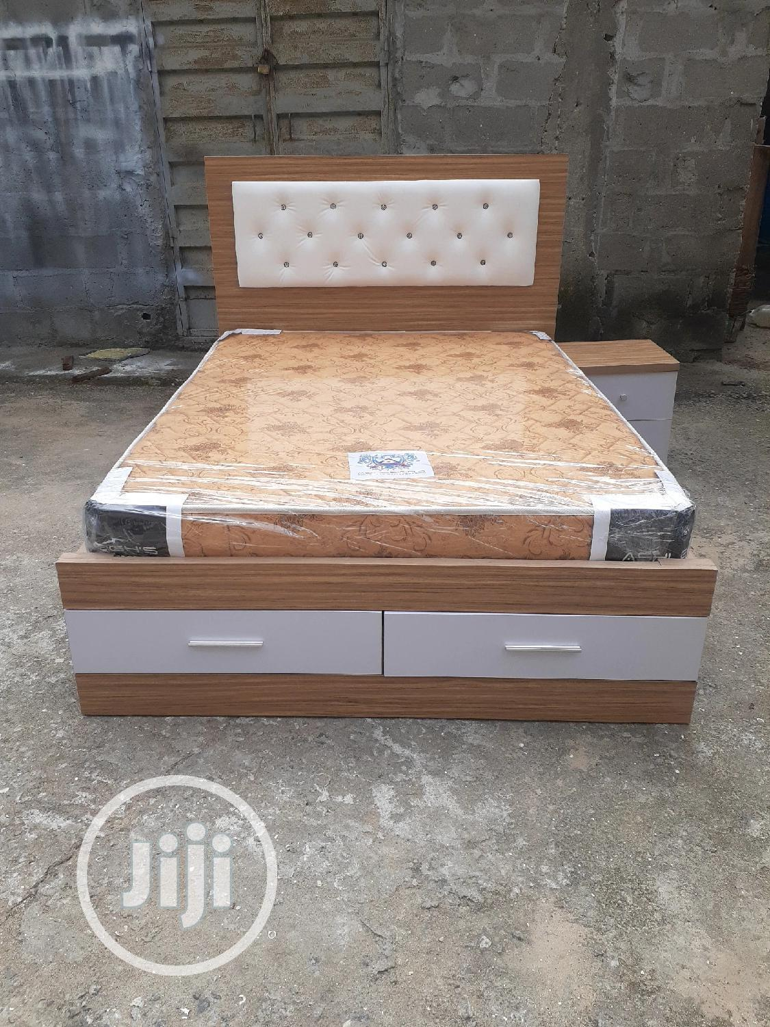4 By 6 Bed Frame With Original Mattress