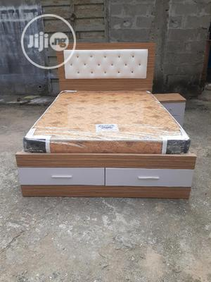 4 By 6 Bed Frame With Original Mattress   Furniture for sale in Lagos State, Ojo
