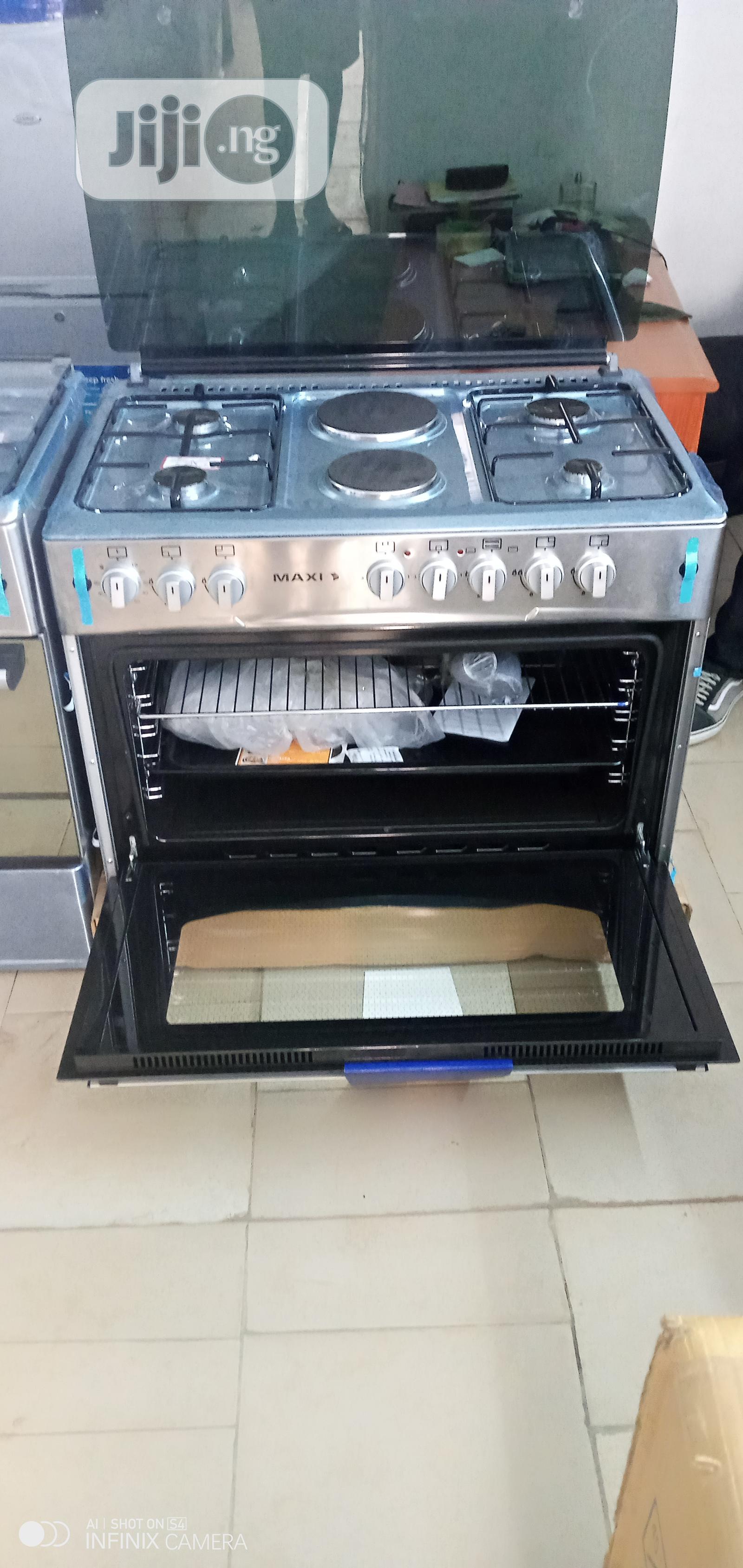 MAXI Gas Cooker MAXI60*90 (4+2) - Inox