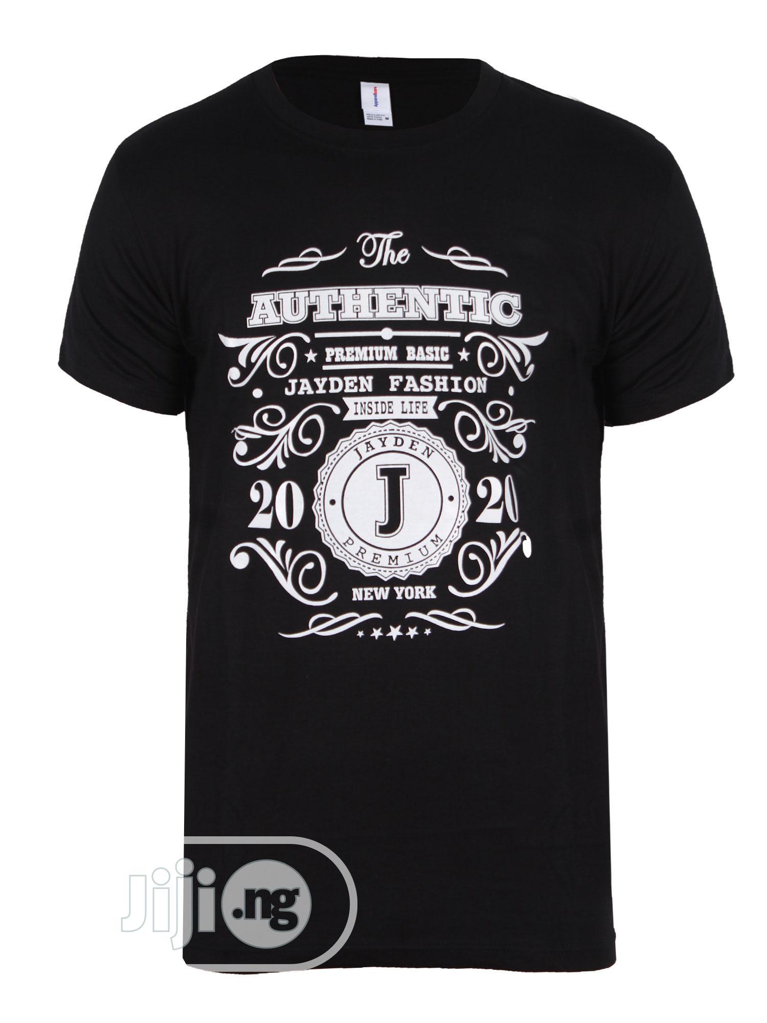 Jayden Apparelkare Printed T-Shirt Black