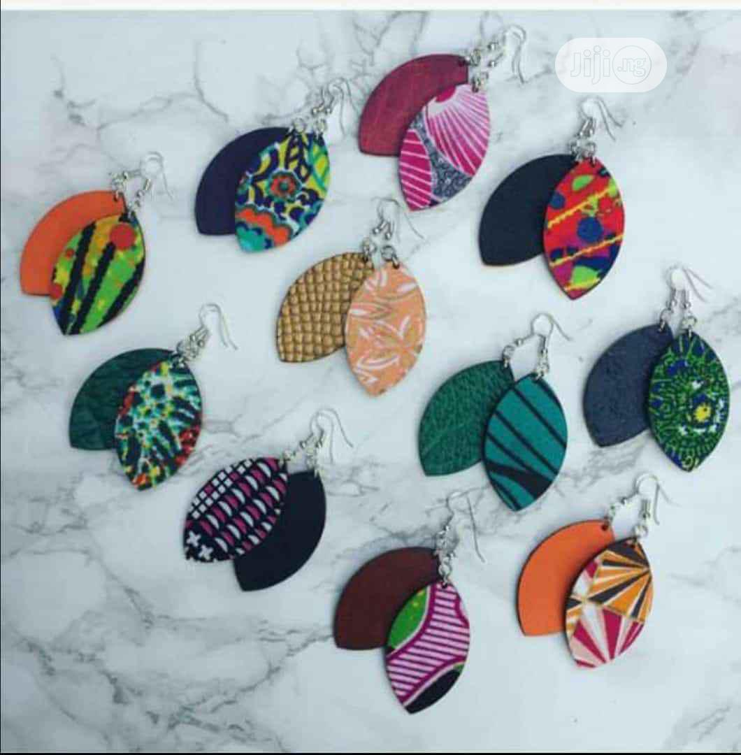 African Print Customized Earrings | Jewelry for sale in Maryland, Lagos State, Nigeria