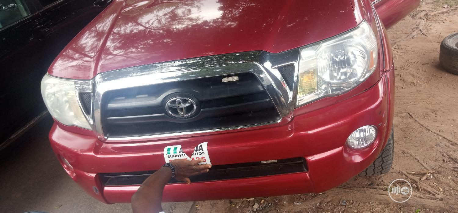 Toyota Tacoma 2006 PreRunner Access Cab Red