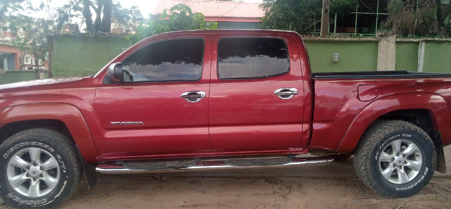 Toyota Tacoma 2006 PreRunner Access Cab Red   Cars for sale in Garki 2, Abuja (FCT) State, Nigeria