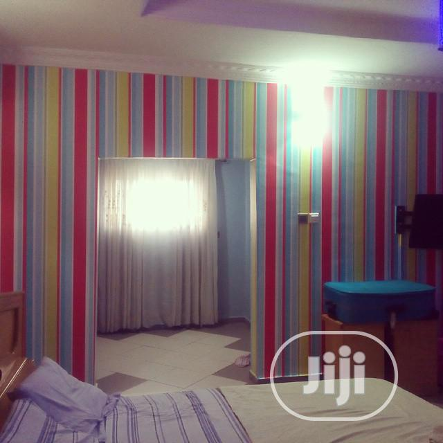 Wallpaper Design An 3d Panel, 3d 3D Mural | Building & Trades Services for sale in Lagos Island (Eko), Lagos State, Nigeria