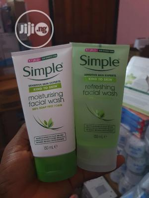 Simple Facial Wash X 1pc at 2000   Skin Care for sale in Lagos State, Oshodi