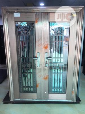 6ft Stainless Glass Door In Door | Doors for sale in Lagos State, Orile
