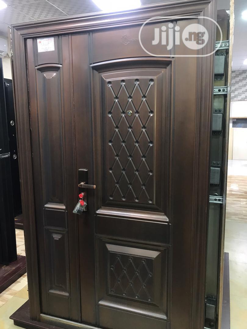 German Copper Steel Door