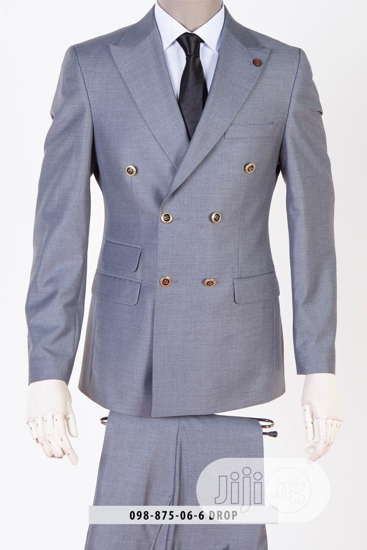 Archive: Double Breasted Slim Fit Suit