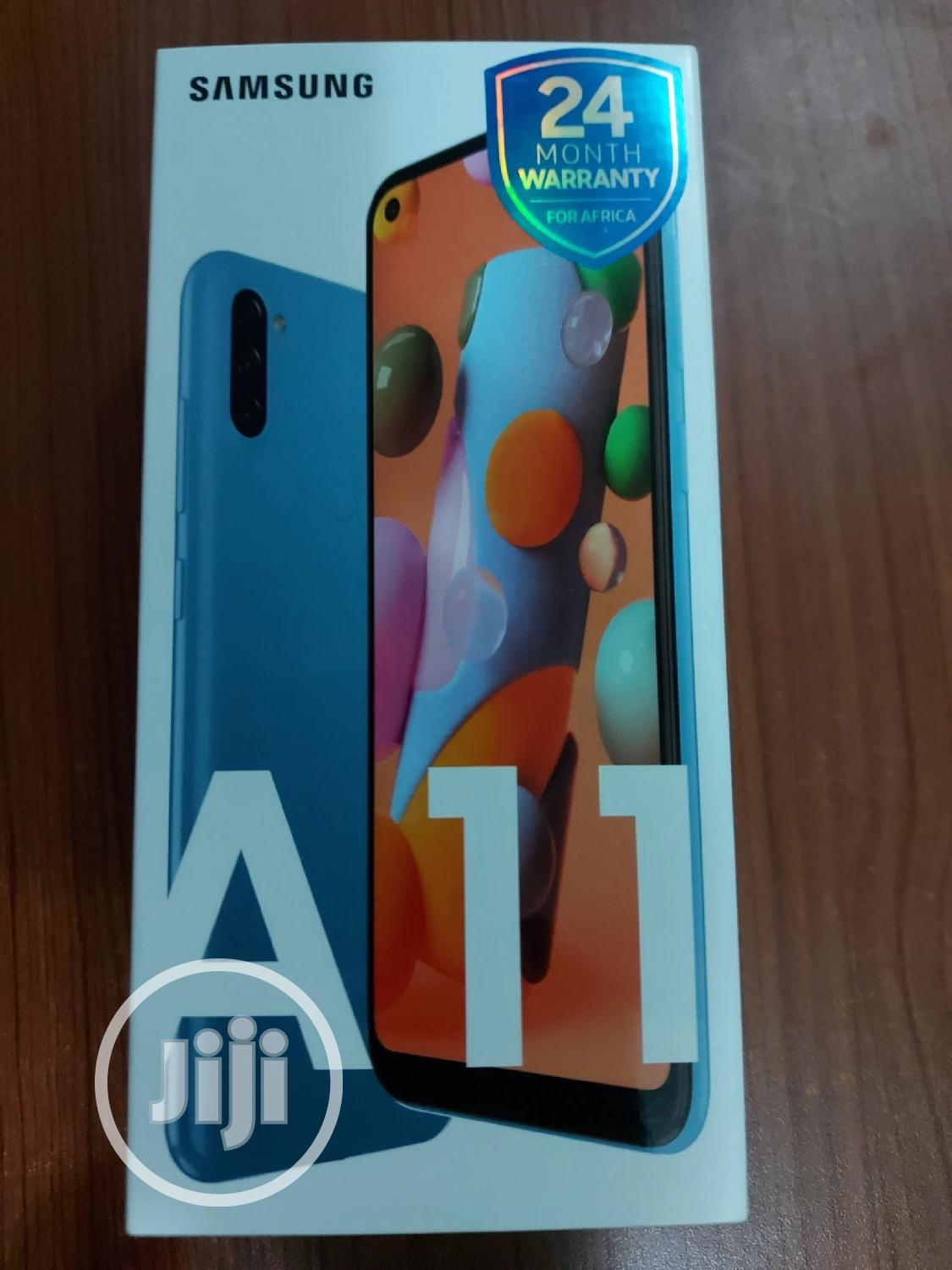 New Samsung Galaxy A11 32 GB Blue | Mobile Phones for sale in Oshodi, Lagos State, Nigeria