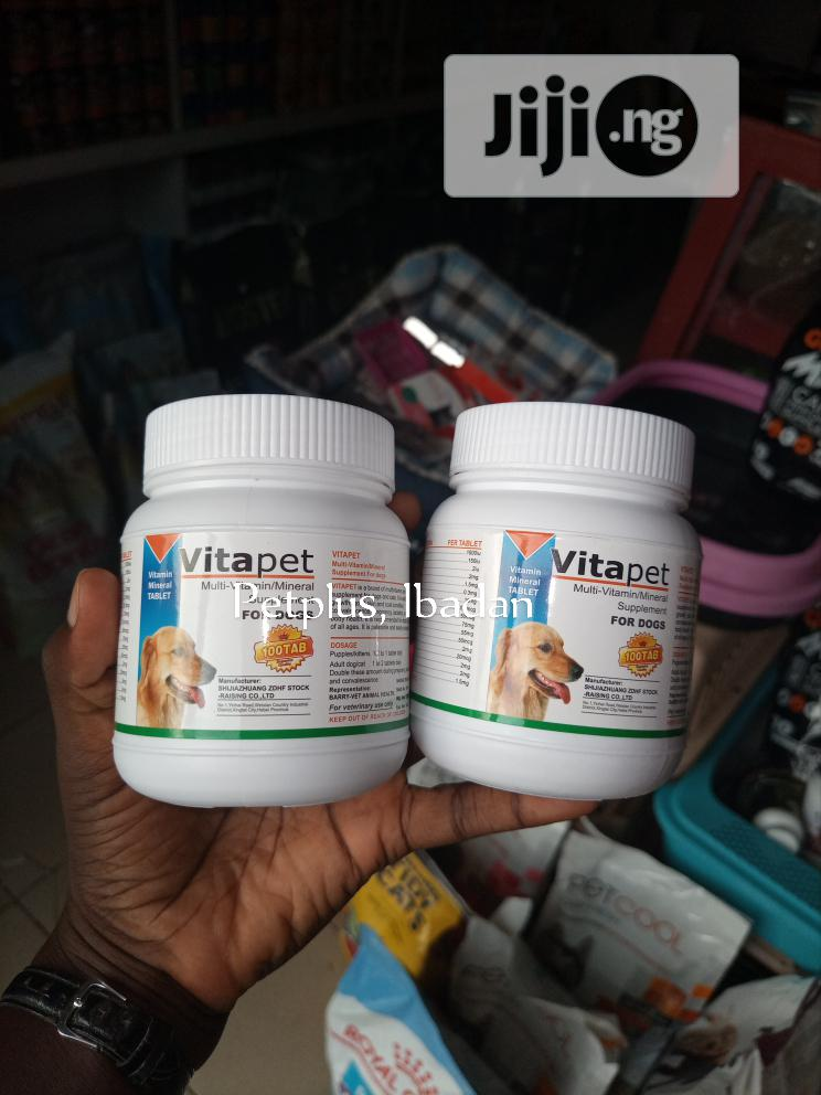 Archive: Vitapet Multivitamin For Dogs