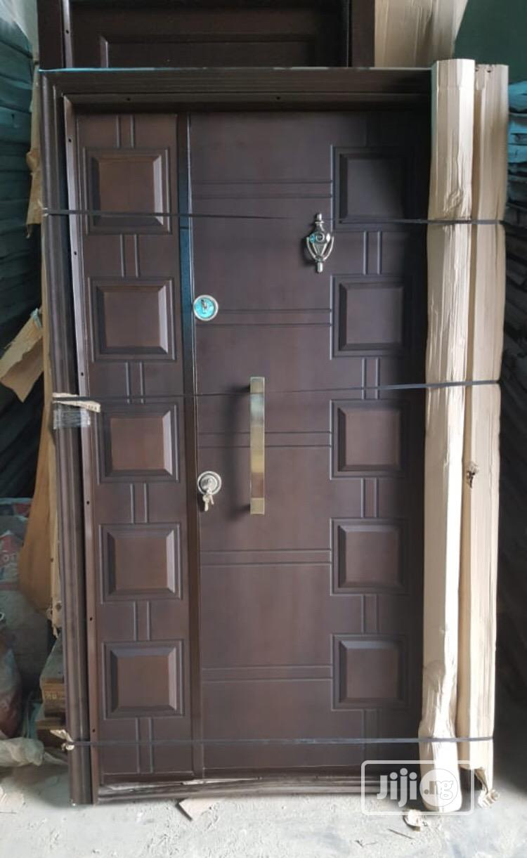 Turkey Wood Finished Security Door | Doors for sale in Orile, Lagos State, Nigeria