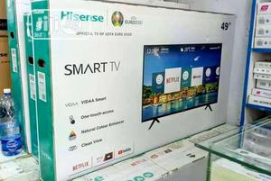 "Hisense 49""Inch Smart Tv Internet 'Netflix' Wifi + Bracket   TV & DVD Equipment for sale in Lagos State, Ojo"