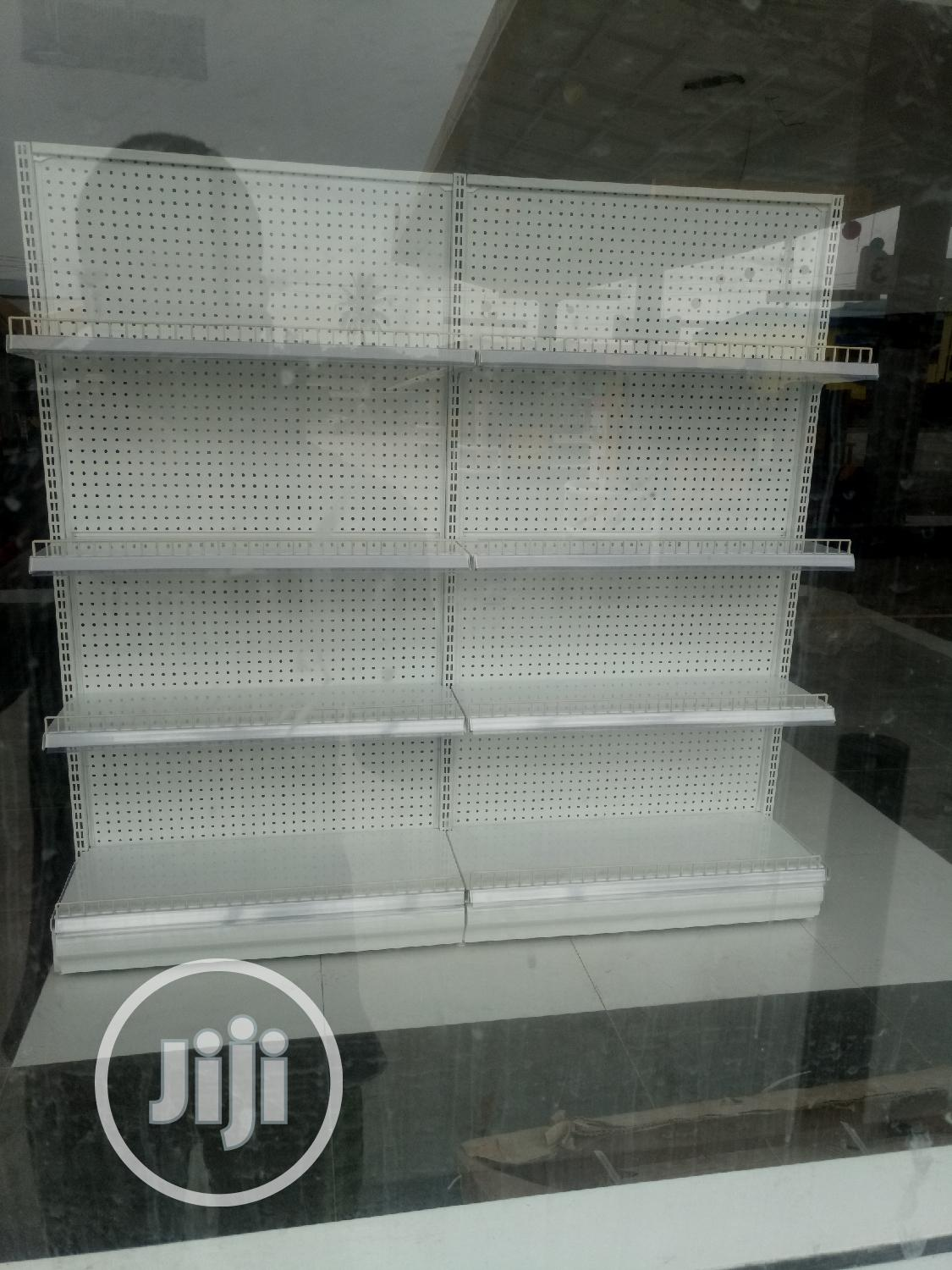 Untouched Supermarket Double Shelve | Store Equipment for sale in Agboyi/Ketu, Lagos State, Nigeria
