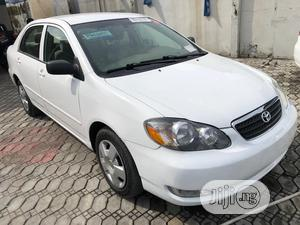 Toyota Corolla 2005 White   Cars for sale in Lagos State, Ajah
