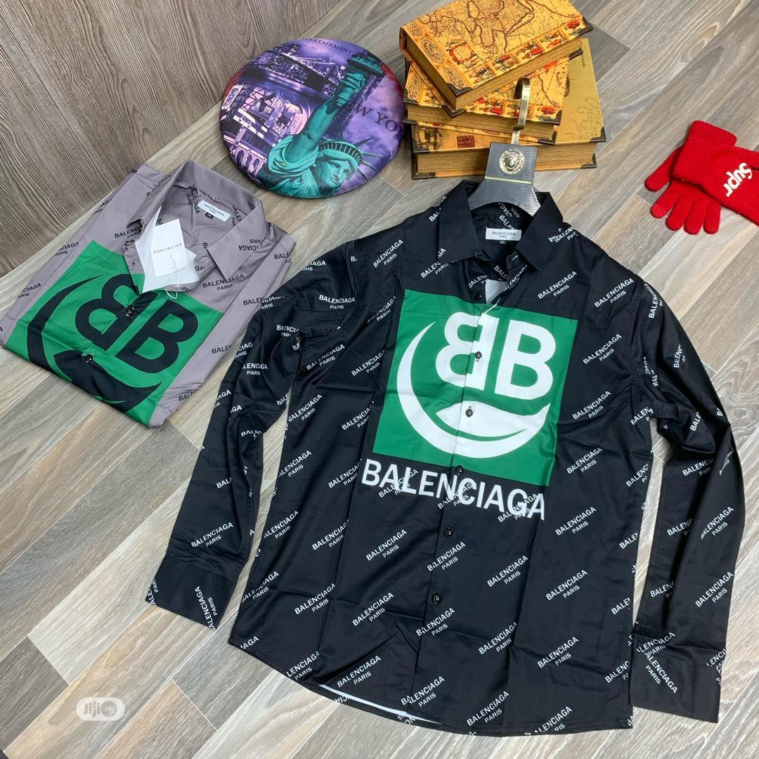 Archive: Original Balenciaga Shirts