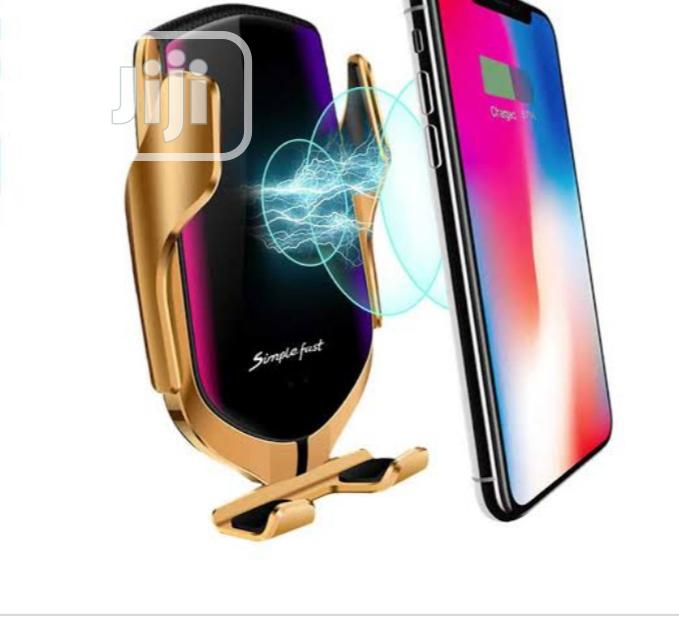 Car Wireless Charger S5 Smart Sensor | Vehicle Parts & Accessories for sale in Ikeja, Lagos State, Nigeria