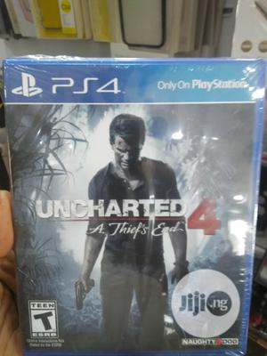 P S 4 Uncharted 4 A Thiefs End   Video Games for sale in Lagos State, Ikeja