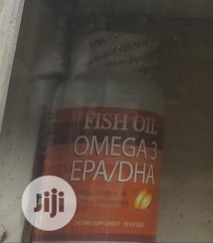 Fish Oil Omega 3 Epa/Dha | Vitamins & Supplements for sale in Lagos State, Ojo