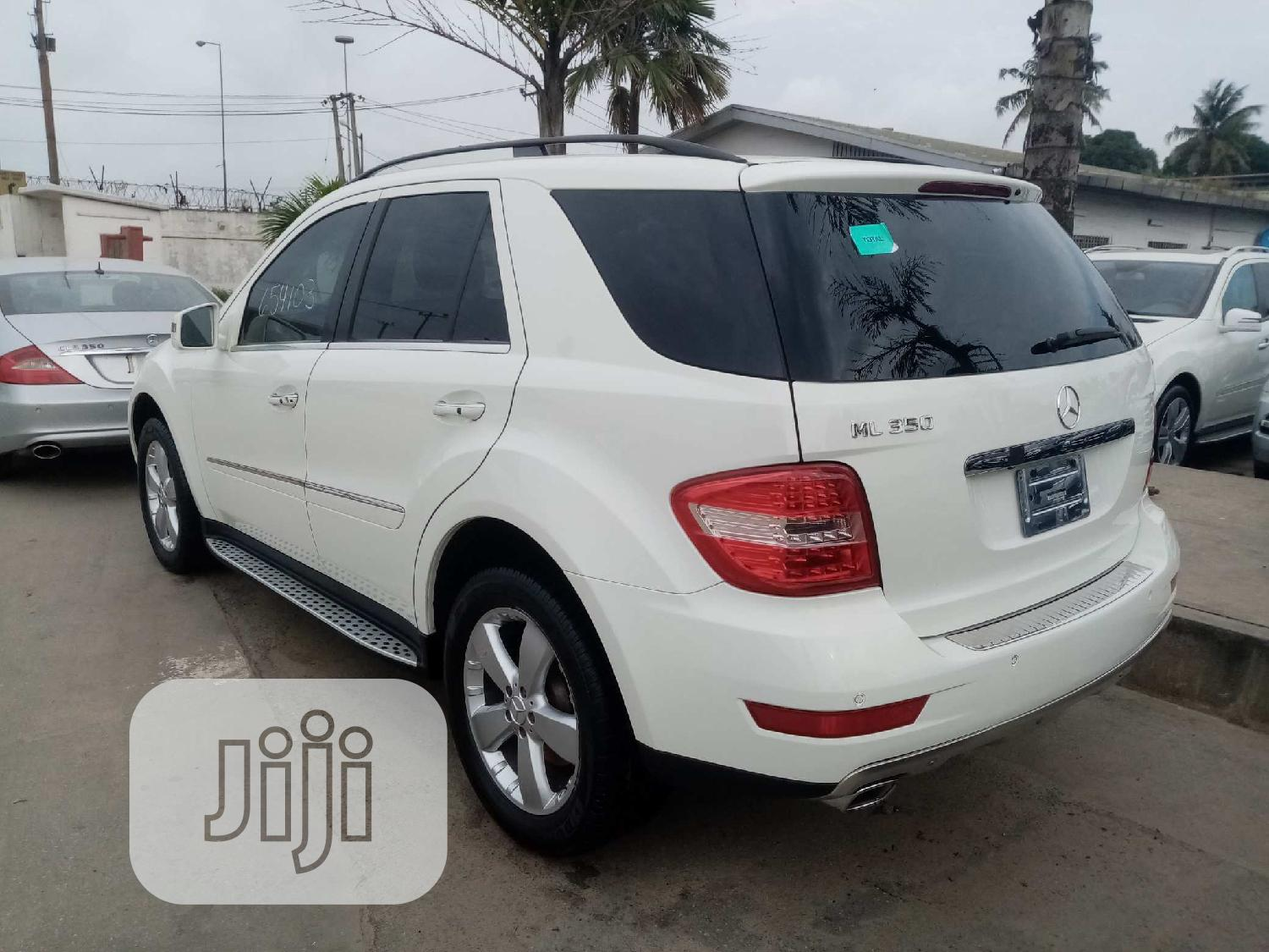 Mercedes-Benz M Class 2011 White | Cars for sale in Apapa, Lagos State, Nigeria