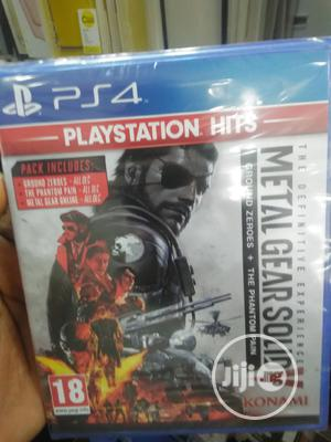 P S 4 Cd Game Metal Gear Solid | Video Games for sale in Lagos State, Ikeja