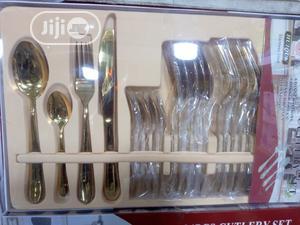 Gold Eating Spoon Set | Kitchen & Dining for sale in Lagos State, Lagos Island (Eko)