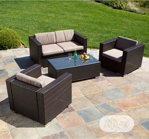 Outdoor Rattan Sofa Set Furniture | Furniture for sale in Lagos State, Ikeja