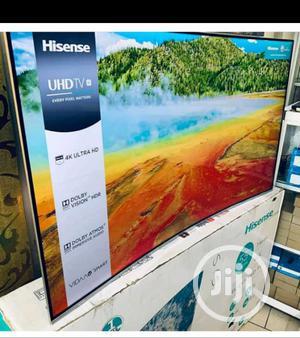"Original Hisense 55""Inch Curve 4K UHD SMART TV Series 7 | TV & DVD Equipment for sale in Lagos State, Ojo"