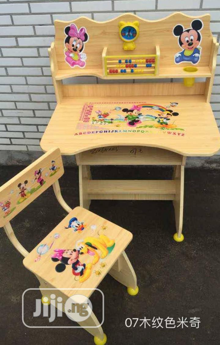 Character Activities Table and Chair