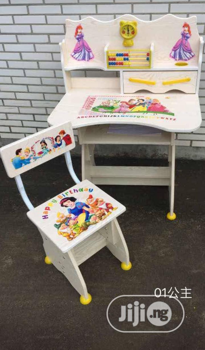 Character Activities Table and Chair | Furniture for sale in Lagos Island, Lagos State, Nigeria