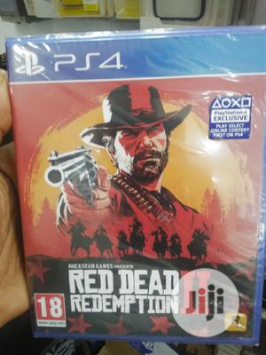 P S 4 Cd Game Red Dead Redemption 11 | Video Games for sale in Lagos State, Ikeja