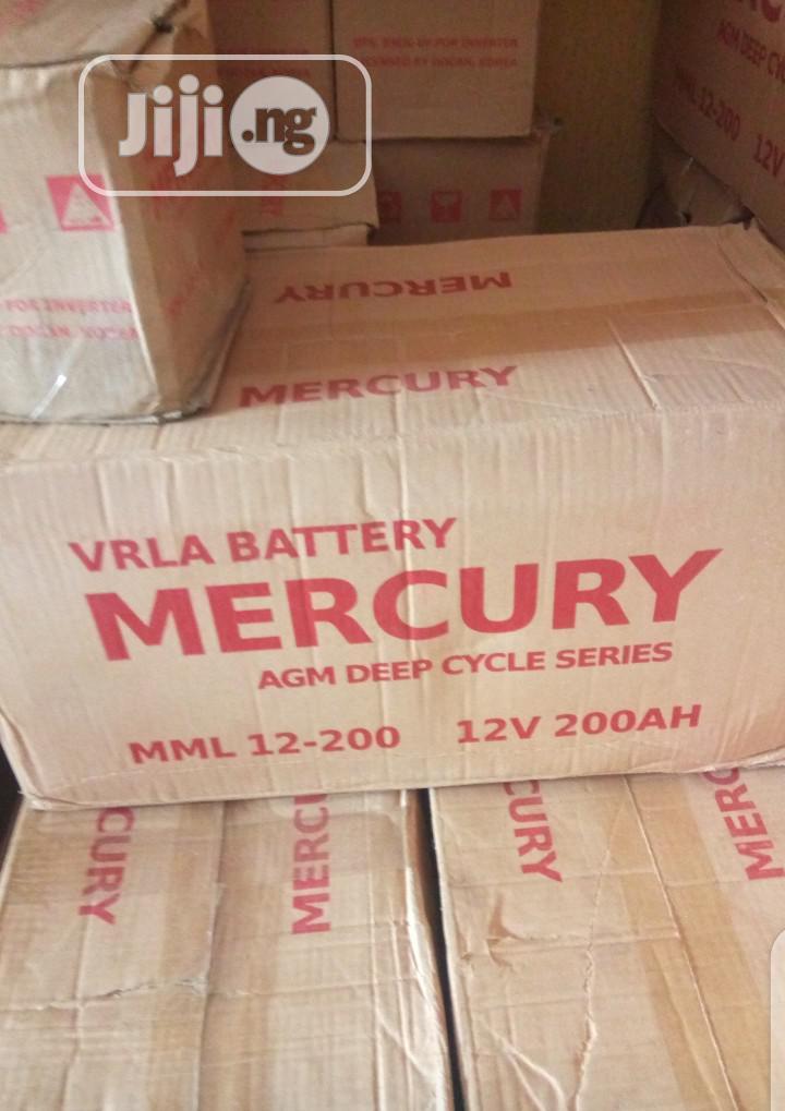 200ah Mercury Battery