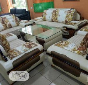 Unique And Quality Leather Sofa Chair By 7 Seaters | Furniture for sale in Lagos State, Lekki