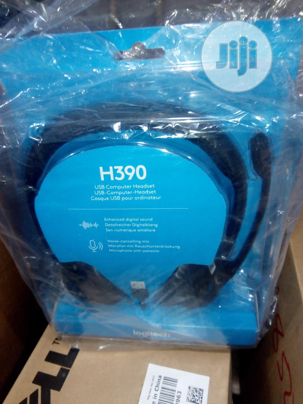 Archive: Logitech H390 Headset