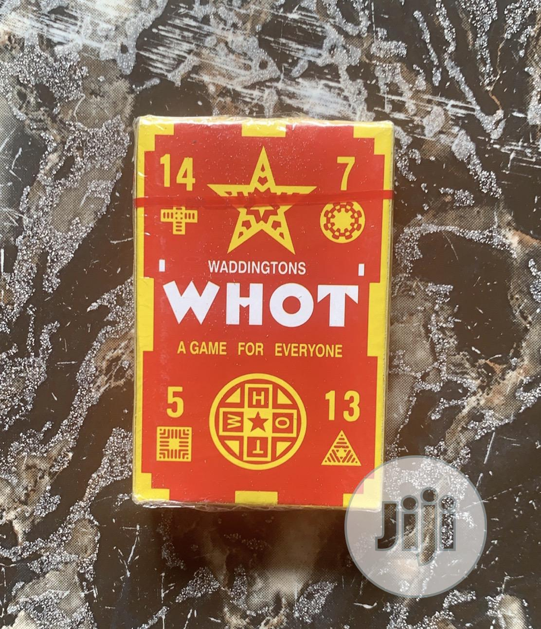 Archive: Whot Card Game