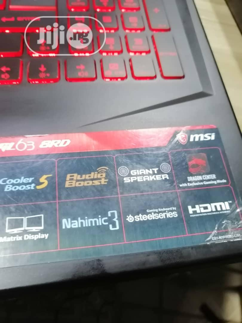 Laptop MSI GS63 Stealth 8RD 16GB Intel Core I7 HDD 1T | Laptops & Computers for sale in Asokoro, Abuja (FCT) State, Nigeria