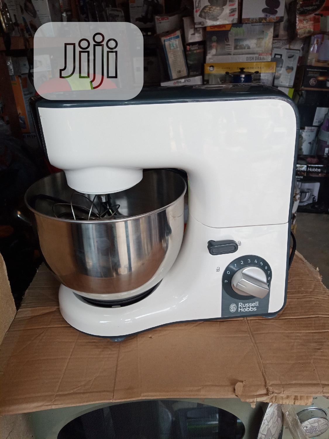 Russell Hobbs 5litres Cake Mixer, 1000watts,With 3 Springles | Kitchen Appliances for sale in Ojo, Lagos State, Nigeria