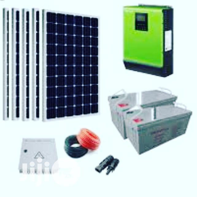 3kva Hybrid Inverter Solar Package