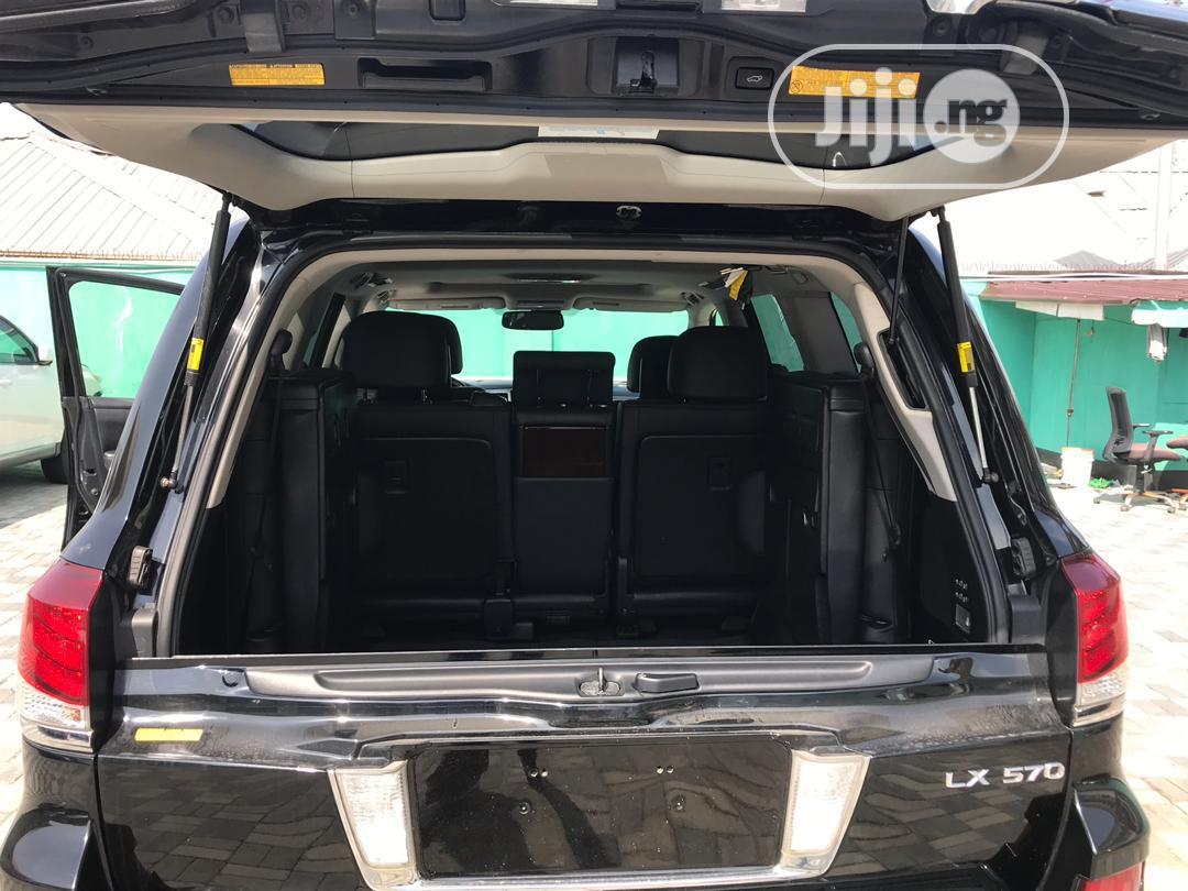 Lexus LX 570 2015 Black | Cars for sale in Ikeja, Lagos State, Nigeria