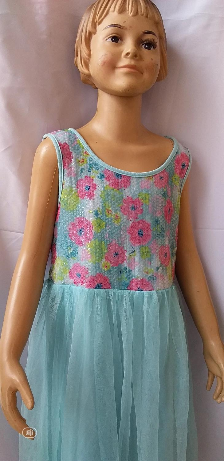 American Princess Gown. Flowery Sequence | Children's Clothing for sale in Ikeja, Lagos State, Nigeria