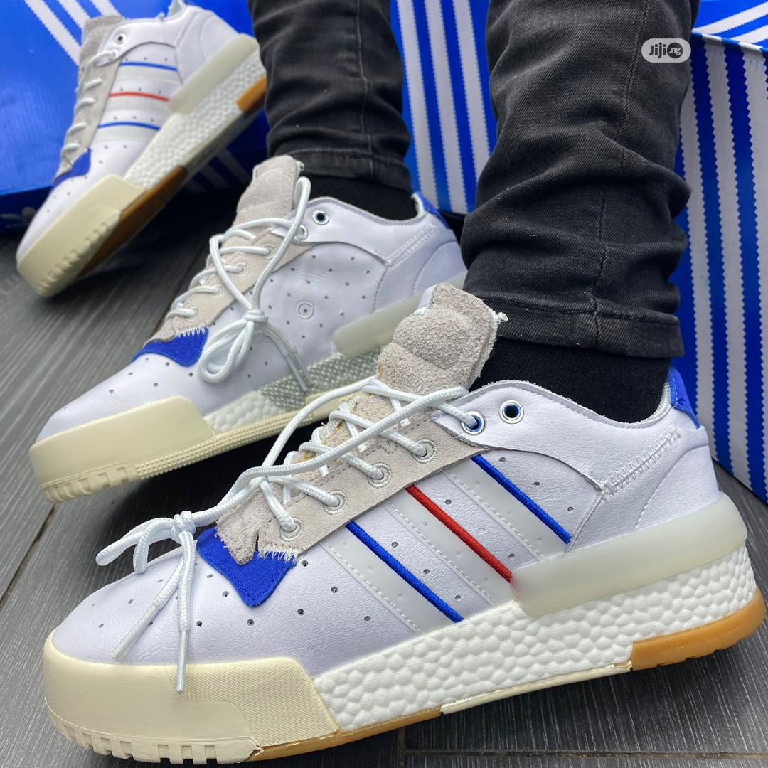 Adidas Rivalry RM Low White Blue