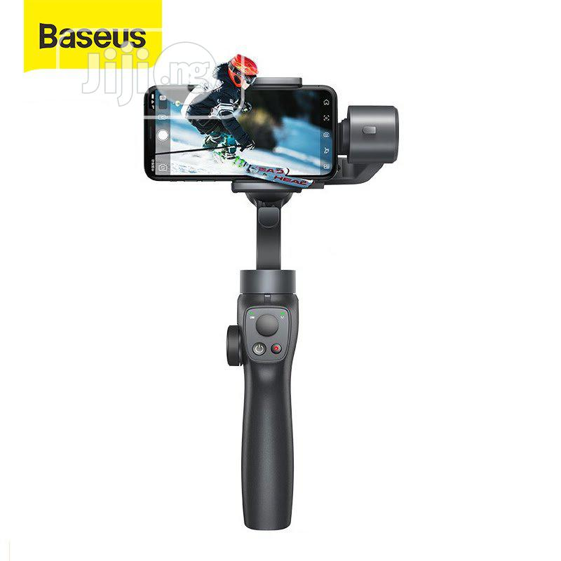 Baseus Handheld Gimbal Stabilizer Control Smartphone | Accessories for Mobile Phones & Tablets for sale in Ikeja, Lagos State, Nigeria