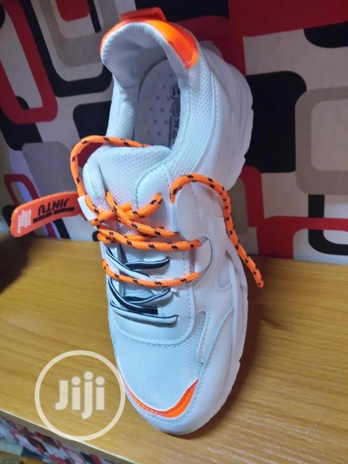 Double Lace Fashion Sneakers | Shoes for sale in Ojodu, Lagos State, Nigeria