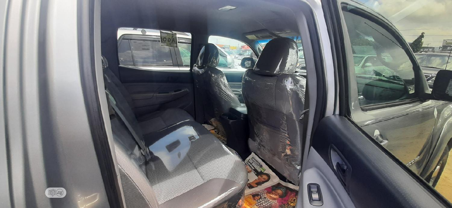 Toyota Tacoma 2014 Gray | Cars for sale in Apapa, Lagos State, Nigeria