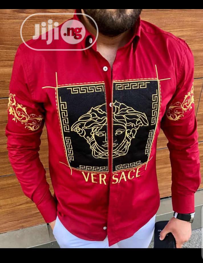 Original Versace Shirt | Clothing for sale in Ojo, Lagos State, Nigeria