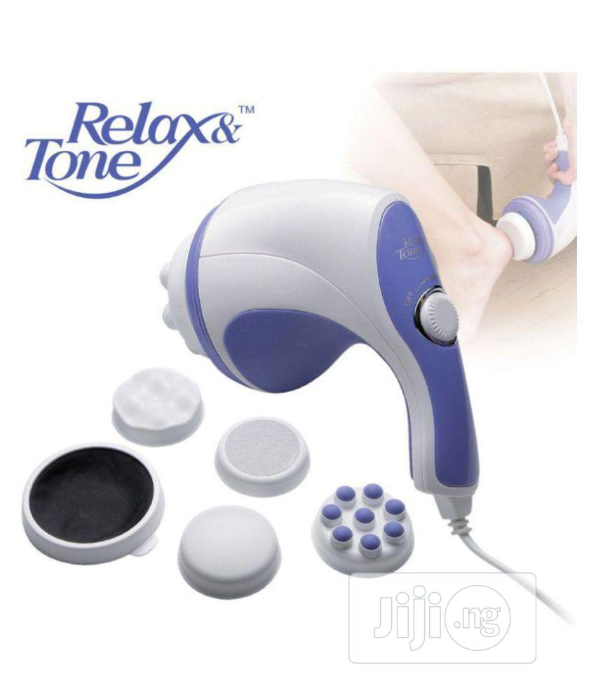 Relax & Spin Tone Whole Body Massager | Tools & Accessories for sale in Ikeja, Lagos State, Nigeria