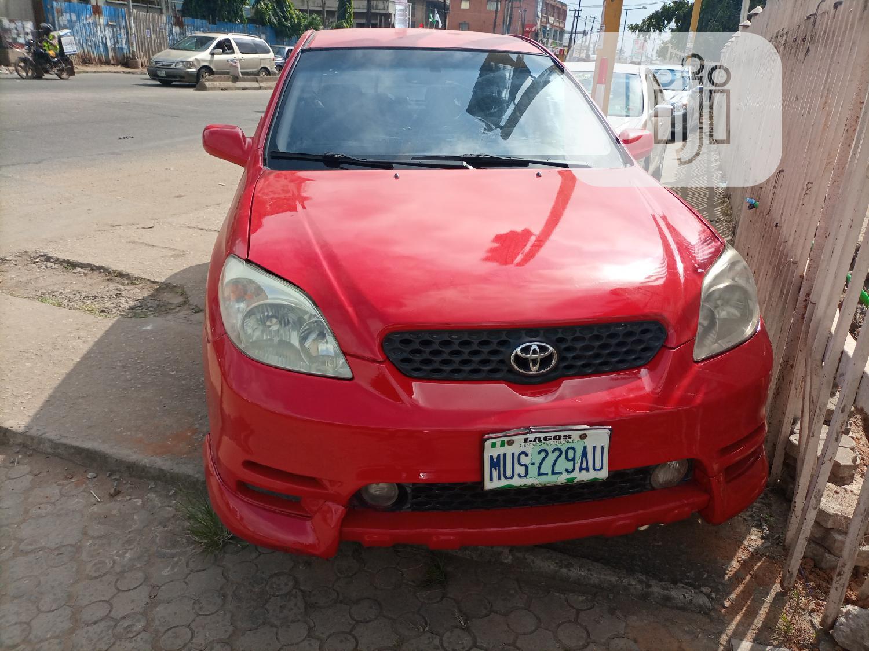 Toyota Matrix 2004 Red In Ifako Ijaiye Cars Wasiu Folorunsho Jiji Ng For Sale In Ifako Ijaiye Buy Cars From Wasiu Folorunsho On Jiji Ng