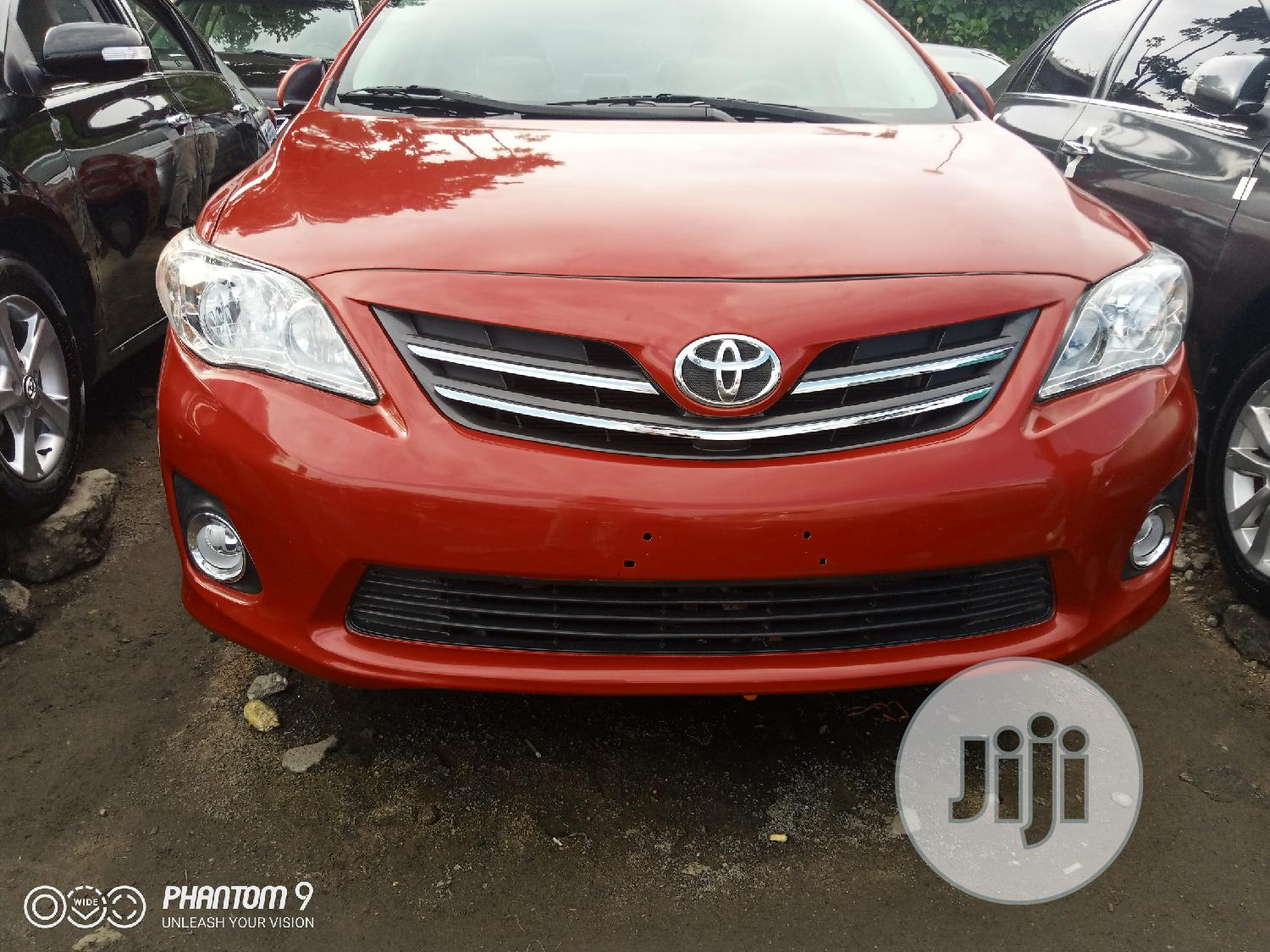 Toyota Corolla 2010 Red | Cars for sale in Apapa, Lagos State, Nigeria